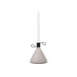 Conic Grey | Candlesticks / Candleholder | PUIK