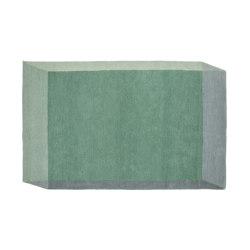 Iso Rectangle Green | Rugs | PUIK