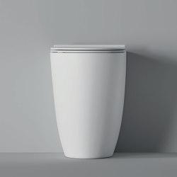 WC Form BTW / Appoggio Square H50 | WC | Alice Ceramica