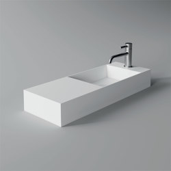 SPY Washbasin / Lavabo 75cm x 27cm | Wash basins | Alice Ceramica