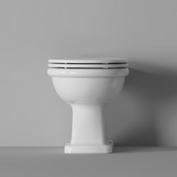 WC Boheme Scarico a terra / S Outlet | Inodoros | Alice Ceramica