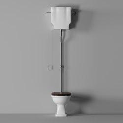Boheme High Cistern / Cisterna Alta | WC | Alice Ceramica
