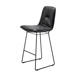 Leya | Counter Chair High with wire frame | Counter stools | FREIFRAU MANUFAKTUR