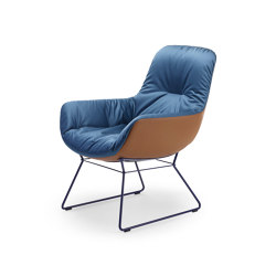 Leya | Rocking Lounge Chair | Armchairs | FREIFRAU MANUFAKTUR