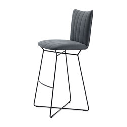 Rubie | Bar Chair with wire frame | Tabourets de bar | FREIFRAU MANUFAKTUR