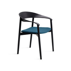 Stella | polstered with wooden frame | Chairs | FREIFRAU MANUFAKTUR