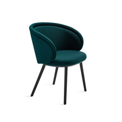 Ona | Armchair with wooden frame | Chairs | FREIFRAU MANUFAKTUR