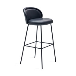 Ona | Barstool mit Stahlgestell | Barhocker | FREIFRAU MANUFAKTUR