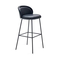 Ona | Barstool with steel frame | Bar stools | FREIFRAU MANUFAKTUR