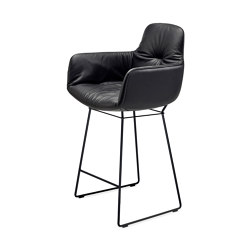 Leya | Kitchen Armchair High | Sedie bancone | FREIFRAU MANUFAKTUR