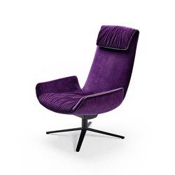 Amelie | Lounge Chair with wire frame | Armchairs | Freifrau Sitzmöbelmanufaktur