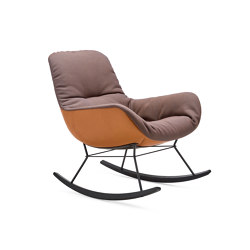 Leya   Rocking Lounge Chair   Sessel   FREIFRAU MANUFAKTUR