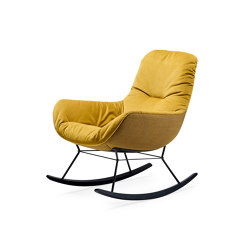 Leya | Rocking Lounge Chair | Sessel | FREIFRAU MANUFAKTUR