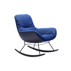 Leya | Rocking Lounge Chair | Sessel | FREIFRAU MANUFAKTUR