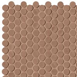 Chelsea Brick Bisquit Round Mosaico | Ceramic mosaics | Fap Ceramiche