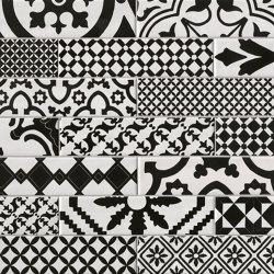 Chelsea Brick Black&White Deco   Ceramic tiles   Fap Ceramiche