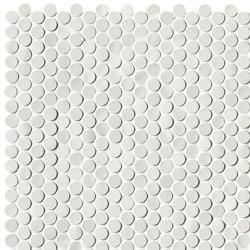 Chelsea Brick White Microround Mosaico | Ceramic mosaics | Fap Ceramiche