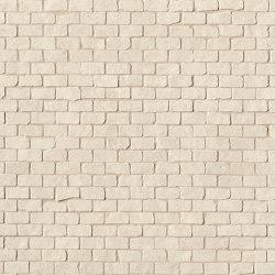 Lumina Stone Beige Brick Mosaico Anticato | Ceramic mosaics | Fap Ceramiche