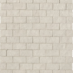 Lumina Stone Grey Brick Macromosaico Anticato | Mosaici ceramica | Fap Ceramiche