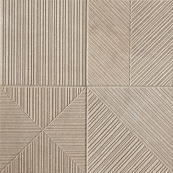 Nux Beige Deco | Ceramic tiles | Fap Ceramiche