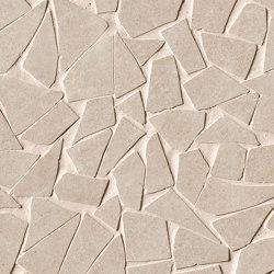Nux Beige Gres Schegge Mosaico | Ceramic mosaics | Fap Ceramiche
