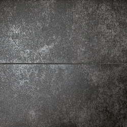 Nux Black Metal Inserto Mix | Ceramic panels | Fap Ceramiche