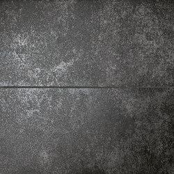 Nux Black Metal Inserto Mix | Panneaux céramique | Fap Ceramiche