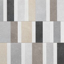 Nux Code Inserto Mix | Ceramic panels | Fap Ceramiche