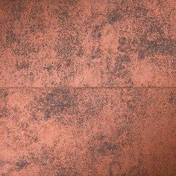 Nux Corten Inserto Mix | Ceramic panels | Fap Ceramiche
