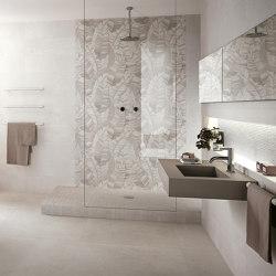 Nux Foliage White Inserto Mix | Ceramic panels | Fap Ceramiche