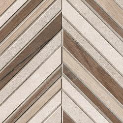 Nux Gres Spinato Mosaico | Ceramic mosaics | Fap Ceramiche