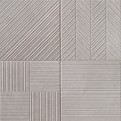 Nux Grey Deco | Ceramic tiles | Fap Ceramiche