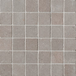 Nux Taupe Gres Macromosaico Anticato | Ceramic mosaics | Fap Ceramiche