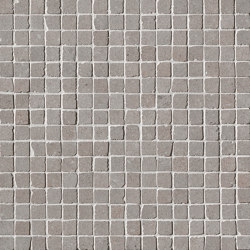 Nux Taupe Gres Mosaico Anticato | Ceramic mosaics | Fap Ceramiche