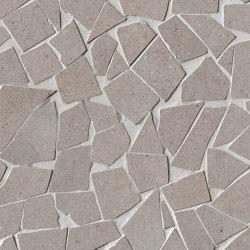 Nux Taupe Gres Schegge Mosaico | Ceramic mosaics | Fap Ceramiche