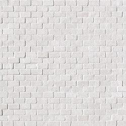 Nux White Brick Mosaico Anticato | Ceramic mosaics | Fap Ceramiche