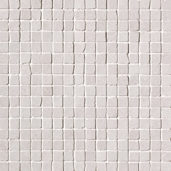 Nux White Gres Mosaico Anticato | Ceramic mosaics | Fap Ceramiche