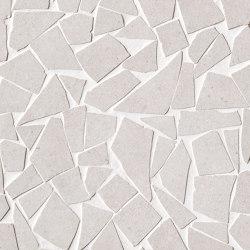 Nux White Gres Schegge Mosaico | Mosaici ceramica | Fap Ceramiche