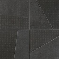 Rooy Dark Domino Mosaico | Ceramic mosaics | Fap Ceramiche