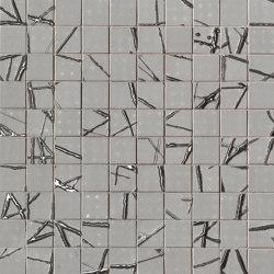 Rooy Grey Web Mosaico | Ceramic mosaics | Fap Ceramiche