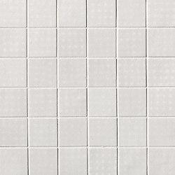 Rooy White Macromosaico | Ceramic mosaics | Fap Ceramiche