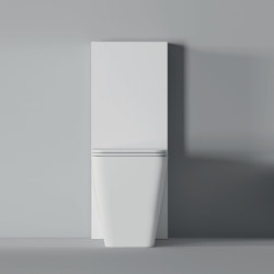Toilette Hide BTW Square 55cm x 35cm | WC | Alice Ceramica