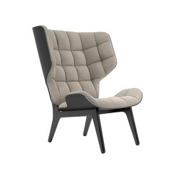 Mammoth Chair, Black / Canvas Washed Beige | Armchairs | NORR11