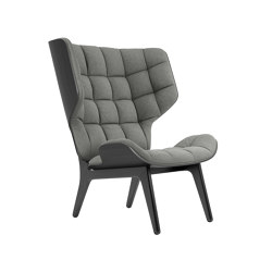 Mammoth Chair, Black / Wool: Light Grey   Poltrone   NORR11