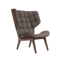 Mammoth Chair, Dark Stained / Wool: Fawn | Sessel | NORR11