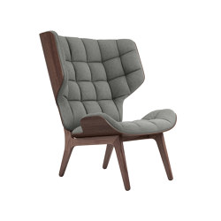 Mammoth Chair, Dark Stained / Wool: Lightgrey | Armchairs | NORR11
