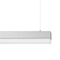 METRON Pendant lamps Office | acrylic glass diffusor with microprism optics | Lampade sospensione | RIBAG