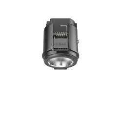 SPARK Downlight 800 false ceiling ring black | Recessed ceiling lights | RIBAG
