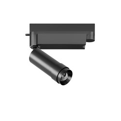 VERTICO track mounted spotlight black | Plafonniers encastrés | RIBAG