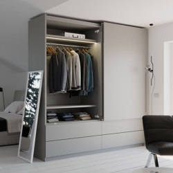 Slider M35 Top | Wardrobe doors | Salice